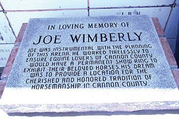 Monument honors Joe Wimberly
